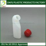 Bottiglia speciale della plastica di figura di colore bianco del PE 40ml