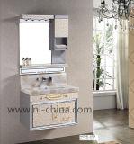 Фабрики мебель ванной комнаты верхней части нержавеющей стали сразу акриловая мраморный