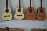 Guitarra clásica superior del concierto del cuello del doble español principal sólido de la junta