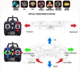 0735c1 2.4GHz 6-Axis Gyro RC Quadcopter com Flashing Light + 2.0MP HD Camera + 2g Micro SD Card + 3.7V 500mAh