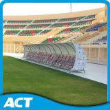 Plaatsing van de Schuilplaats van het Team van de Voetbal van de luxe de Mobiele voor het Personeel, de Spelers en de Scheidsrechters van de Bus