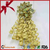 Conjuntos del regalo de la cinta de la fuente de la fábrica de China, flores de la cinta, arqueamiento de la cinta de los PP para la decoración