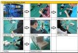 Câmera de Zome e de sistema do CCTV prendedor de relâmpago da única canaleta