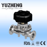 Valvola a diaframma pneumatica sanitaria di Yuzheng Dn20