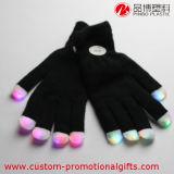 Guantes cambiantes de la iluminación del dedo del producto del partido del color que destellan