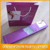 Caixa de empacotamento da peruca de papel simples