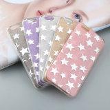 iPhone 6/6s/6plus/6sのための多彩な星輝いた柔らかいTPUの電話完全な保護カバーと