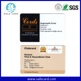 Cartão do código de barras do cartão da lealdade do PVC do preço de fábrica