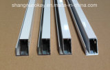 Sale caldo Silver Anodized Aluminium Profile per Kitchen Cabinet Door (SN634)