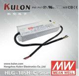Única saída 350mA, 700mA) Meanwell diodo emissor de luz médio Driver de Well Power Supply Hlg-80h-C (