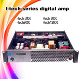 I amplificador de potência do profissional 2u da classe HD Digitas da tecnologia