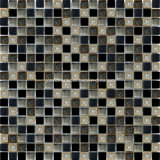 도매 Ice Crackle Ceramic & Aluminum Alloy를 가진 Glass Mosaic