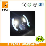 7inch DEL Headlight High Low Beam Headlight avec Angel Eyes pour Harley/Jeep/Auto
