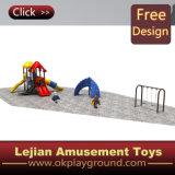 Equipo al aire libre del patio de la diversión de los niños durables (X1501-4)