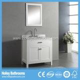 نهاية عادية متعدّد طبقات غرفة حمّام بالوعة مع اثنان حوض ومرآة ([بف132و])