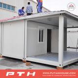 China prefabricó la casa del envase para el hogar vivo con el balcón