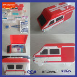 Kit Emergency del contenitore di giocattolo pp dell'ambulanza di cura della famiglia per i capretti