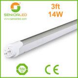 Lámparas del tubo de T8 6500k 20W los 4FT LED con la tira de Ws2812b