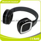 Au-dessus de l'écouteur stéréo sans fil de casque de Bluetooth d'oreille