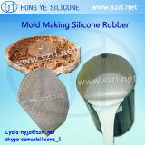 Formteil Silicone Rubber für Gypsum Products Making mit High Tear Strength