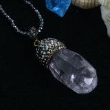 Rinestone를 가진 형식 Gemstone Crystal Bead Jewellery Pendant