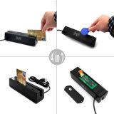 Programa de escritura del lector de tarjetas de viruta de Sh160 IC EMV, lector de tarjetas magnético del golpe fuerte, programa de escritura del lector de tarjetas de RFID