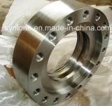 ステンレス鋼の鍛造材のフランジ