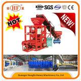 機械製造業者(QTJ4-26C)を作る小型の煉瓦ブロック