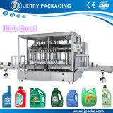 Machine de remplissage de bouteilles automatique d'huile à moteur avec la pompe de rotor