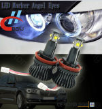El ángel de E60 E61 E63 E64 E92 H8 Eyes la etiqueta de plástico del LED para BMW con Canbus