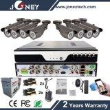 Kit lleno al aire libre de la cámara DVR del CCTV de HD 8CH 1080P Ahd