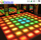 결혼식 Decoration 3D Illusion Mirror Infinity LED Dance Floor