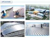 Gran Funcionamiento-Coste contra la hoja de acero prepintada acero del material para techos de PPGI para la construcción de edificios del aislante de calor