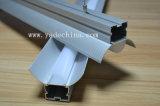 Profilo del soffitto. Profilo di alluminio con il diffusore opaco opalino per il profilo dell'indicatore luminoso di striscia del LED