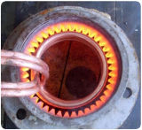 높은 Quality 및 Energy Saving Induction Heating Shaft 또는 Gear Quenching Machine