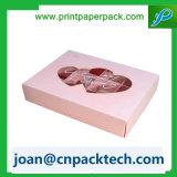 Nuovo contenitore di abito dell'alimento della torta della carta da stampa di colore di modo