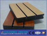 Het houten MDF van de Melamine van het Vernisje Decoratieve Comité van de Muur van het Hout Akoestische