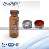 tubo de ensaio ambarino do vidro da HPLC da garganta do friso 2ml