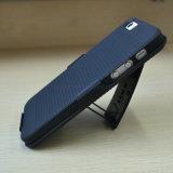 Мобильный телефон всеобщей кобуры зажима пояса комбинированный/передвижной случай с Kickstand на iPhone 5