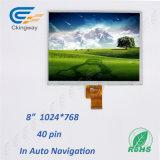 8インチの解像度1024年(RGB) X768 LCDスクリーンのモジュール