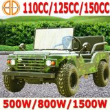 China New 2015 110cc 150cc Mini Jeep Willys para Sale para Kids Use va Kart