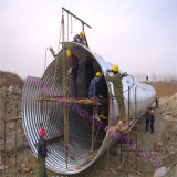 China corrugou a tubulação de aço seja tubulação usada da água de esgoto