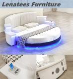 Горячая продавая мебель спальни Cy006 с аудиоплейером освещения СИД