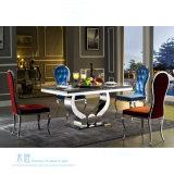 椅子(HW-YH97C)を食事する高い背部宴会の金属フレームのホテル