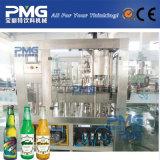 Automático 3 en 1 cerveza de Equipos de embotellamiento por pequeña botella de cristal y la tapa de la corona