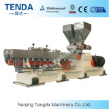 Tsh-75 PC/PE Tenda Masterbatch granulant la machine en plastique d'extrudeuse