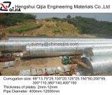 La Chine 10 ans d'usine de vente en gros de pipe en acier ondulée de ponceau