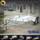 De muti-functionele Aanhangwagen van de Auto van de Schuine stand met de Vloer van de Plaat van de Controleur