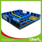 Combined dell'interno Amusement Trampoline Park con Foam Pit