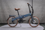 da '' bicicleta elétrica mini dobradura 20 com bateria escondida